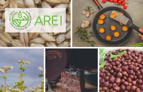 """AREI pārstāvētie stendi izstādē """"Riga Food 2021"""""""