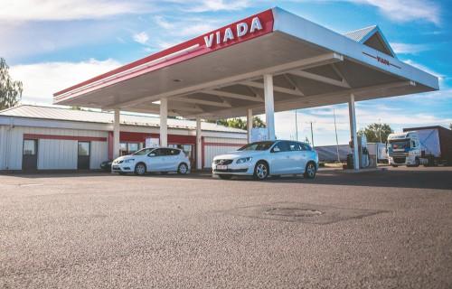 Viada degvielas uzpildes stacijas visā Latvijā