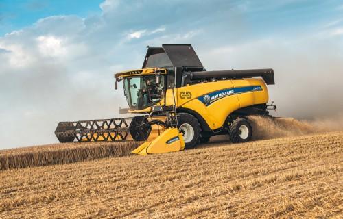 NEW HOLLAND AGRICULTURE jaunā kombainu sērija  CH CROSSOVER HARVESTING