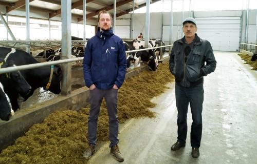 Divas paaudzes vienā saimniecībā