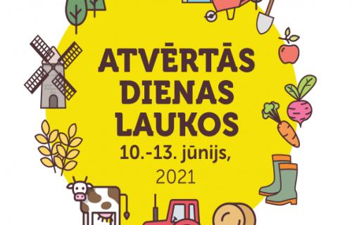 """""""Atvērtās dienas laukos"""" notiek 10.-13. jūnijā!"""