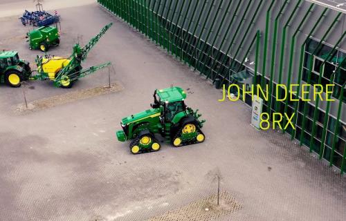 Pirmais John Deere 8RX Latvijā dodas pie saviem saimniekiem!